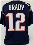 Tom Brady New England Patriots Custom Home Jersey Mens 2XL