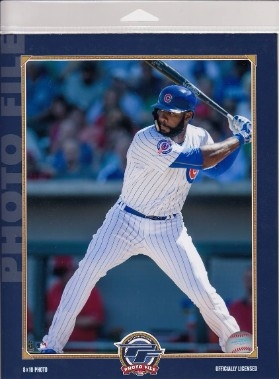 Jason Heyward Chicago Cubs Licensed MLB Photo File 8x10 Photo In Package