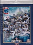 2016 World Series Champions Chicago Cubs Licensed Photo File 8x10 Collage Photo In Package A