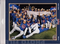 2016 World Series Champions Chicago Cubs Licensed Photo File 8x10 Celebration Photo In Package A