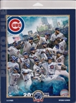 2016 World Series Champions Chicago Cubs Licensed Photo File 8x10 Collage Photo In Package B