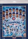 2016 World Series Champions Chicago Cubs Licensed Photo File 8x10 PhotoIn Package