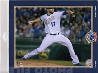 Wade Davis Kansas City Royals Licensed MLB Photo File 8x10 Photo In Package