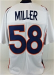 Von Miller Denver Broncos Custom Away Jersey Mens 2XL