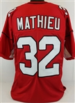 Tyrann Mathieu Arizona Cardinals Custom Home Jersey Mens 2XL