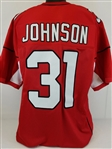 David Johnson Arizona Cardinals Custom Home Jersey Mens 2XL