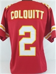Dustin Colquitt Kansas City Chiefs Custom Home Jersey Mens XL