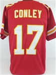 Chris Conley Kansas City Chiefs Custom Home Jersey Mens XL