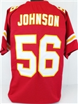 Derrick Johnson Kansas City Chiefs Custom Home Jersey Mens XL