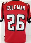 Tevin Coleman Atlanta Falcons Custom Home Jersey Mens 2XL