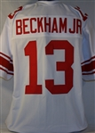 Odell Beckham Jr. New York Giants Custom Away Jersey Mens 2XL