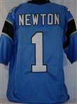 Cam Newton Carolina Panthers Custom Alternate Jersey Mens XL