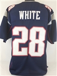 James White New England Patriots Custom Home Jersey Mens 2XL