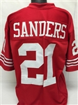 Deion Sanders San Francisco 49ers Custom Home Jersey Mens 2XL