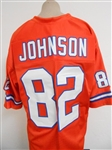 Vance Johnson Denver Broncos Custom Home Jersey Mens 2XL