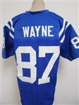 Reggie Wayne Indianapolis Colts Custom Home Jersey Mens 2XL