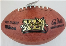 Super Bowl 41 XLI Official Wilson NFL On Field Game Football Indianapolis Colts vs Chicago Bears