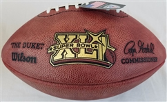 Super Bowl 41 XLI Official Wilson NFL On Field Game Football w/ box Indianapolis Colts vs Chicago Bears