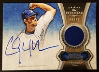 Clayton Kershaw 2012 Topps Five Star Auto Jersey Patch Autograph 55/97 Dodgers
