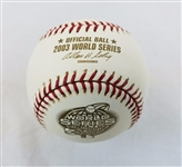 2003 Rawlings MLB Official World Series Game Baseball Marlins vs Yankees