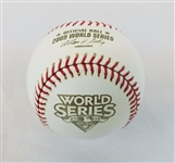 2009 Rawlings Official MLB World Series Game Baseball Yankees vs Phillies