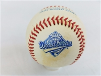1993 Rawlings MLB Official World Series Game Baseball Blue Jays vs Phillies
