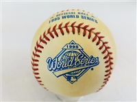 1995 Rawlings MLB Official World Series Game Baseball Atlanta Braves vs Indians