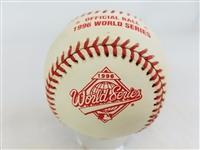 1996 Rawlings MLB Official World Series Game Baseball New York Yankees vs Braves