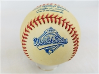 1997 Rawlings MLB Official World Series Game Baseball Indians vs Marlins