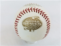 2003 Rawlings MLB Official 100th World Series Game Baseball Marlins vs Yankees