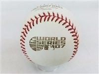 2007 Rawlings MLB Official World Series Game Baseball Boston Red Sox vs Rockies