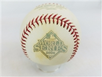 2008 Rawlings MLB Official World Series Game Baseball Phillies vs Rays