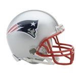 New England Patriots Riddell NFL Football Mini Helmet