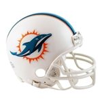 Miami Dolphins Riddell NFL Football Mini Helmet
