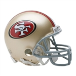 San Francisco 49ers Riddell NFL Football Mini Helmet