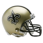 New Orleans Saints Riddell NFL Football Mini Helmet
