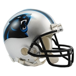 Carolina Panthers Riddell NFL Football Mini Helmet