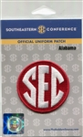 University of Alabama Crimson Tide Official Licensed SEC Football Patch