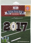 Official Licensed NCAA 2017 College Football Playoff Patch Alabama vs Clemson