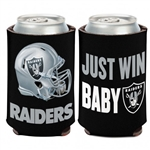 Oakland Raiders Just Win Baby 12oz. Can Cooler