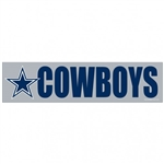 "Dallas Cowboys Officially Licensed NFL 3""x12"" Bumper Strip Sticker"