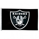 Oakland Raiders Officially Licensed NFL 3x5 Team Flag