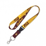 "Arizona State University Sun Devils Officially Keychain Lanyard MLB 1"" Width Lanyard w/ Detachable Buckle"