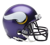 Minnesota Vikings Riddell NFL Football Mini Helmet