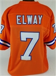 John Elway Denver Broncos Custom Home Jersey Mens 2XL