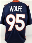 Derek Wolfe Denver Broncos Custom Alternate Jersey Mens Large