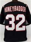 "Tyrann Mathieu ""HoneyBadger"" Arizona Cardinals Custom Alternate Jersey Mens Large"