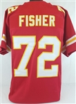 Eric Fisher Kansas City Chiefs Custom Home Jersey Mens Large