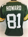 Desmond Howard Green Bay Packers Custom Home Jersey Mens 3XL