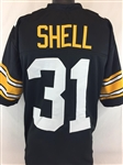Donnie Shell Pittsburgh Steelers Custom Home Jersey Mens Large